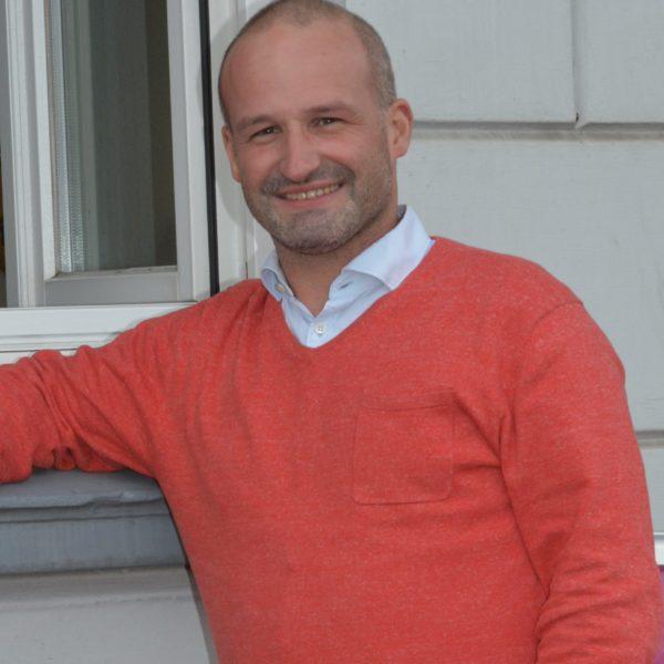 Kai Koeser, OV Vorsitzender vor SPD Lokal, 2019, SPD Stade