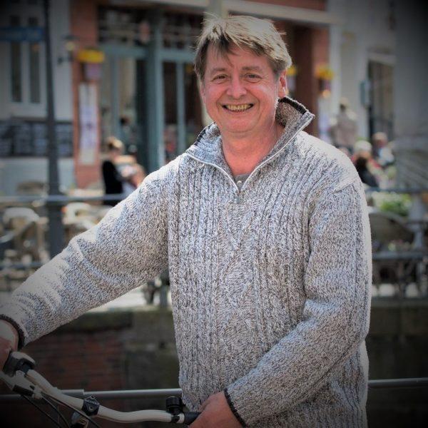 Thomas Brückner, Porträt in der Stader Innenstadt