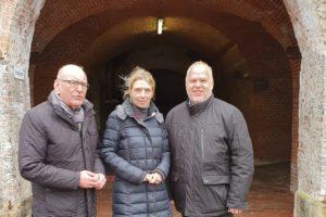 Bundestagsabgeordnete Svenja Stadler (SPD) freut sich über 350.000 € für die Festung Grauerort
