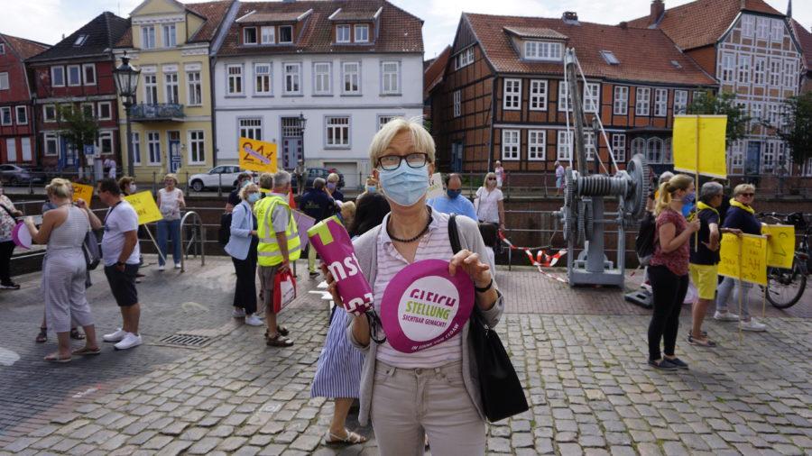 Sigrid Richter, Vorsitzende ASF Kreis Stade