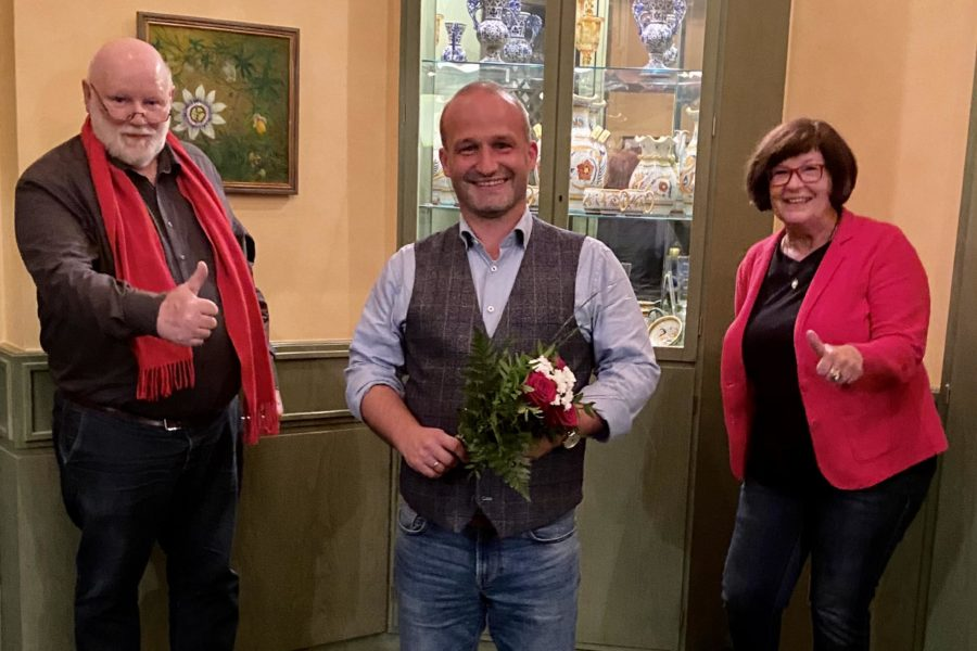Kai Koeser mit Petra Tiemann und Klaus Manal