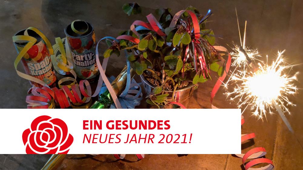 SPD Stade wünscht ein gesundes neues Jahr!