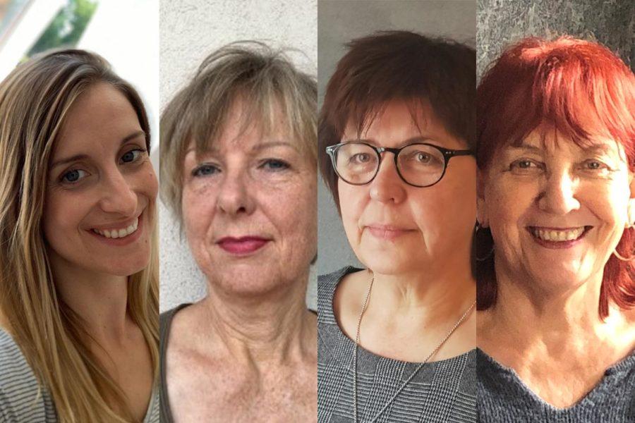 Digitaler After Work der ASF Stade zum Weltfrauentag 2021, 4 Frauen im Portrait