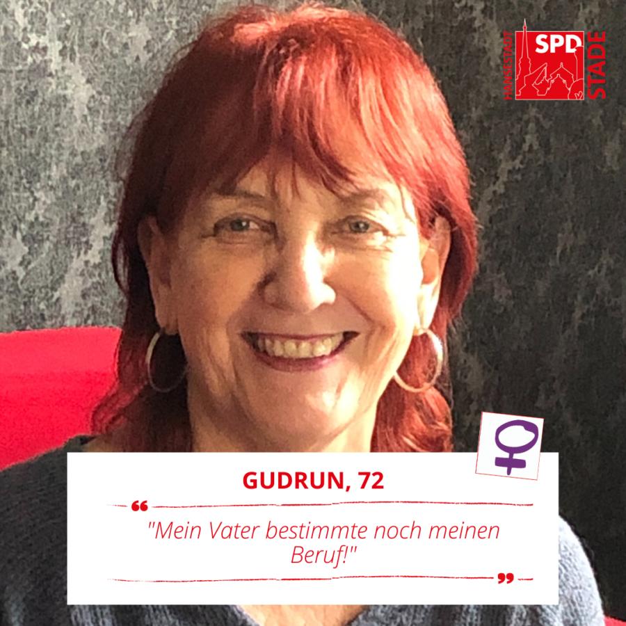 """Gudrun Grams mit ihrem Fazit zum Digital After Work am Weltfrauentag: """"Mein Vater bestimmte noch meinen Beruf!"""""""