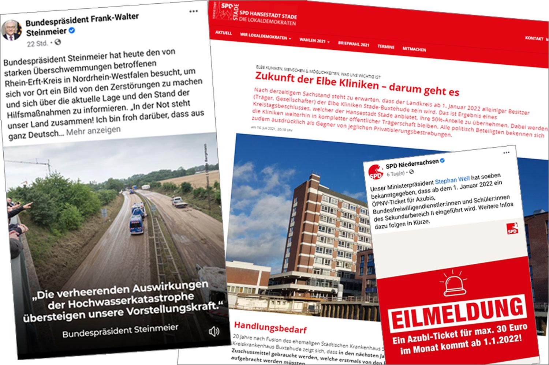 Sozen-Sonntag Nummer 2: Flutkatastrophe in Rheinland-Pfalz und Nordrhein-Westfalen, die Zukunft der Elbe Kliniken, das Jugendticket in Niedersachsen, die CDU und Politik für das Kapital, Ehrung von Esther Bejarano